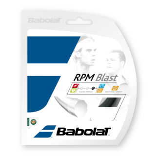 BABOLAT STRING RPM BLAST BLACK 17G 1.25MM SET