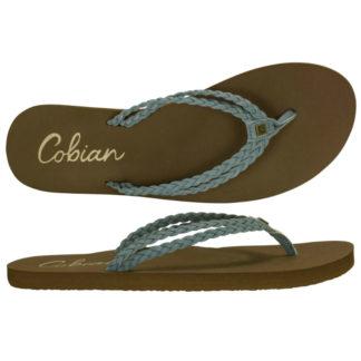 COBIAN SANDALS LEUCADIA WOMEN BLUE/BROWN