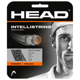 HEAD STRING INTELLISTRING SQUASH SILVER 17G SET