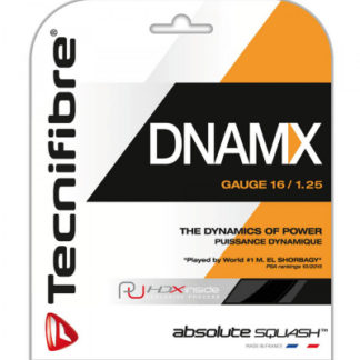 TECNIFIBRE STRING SQ DNAMX 1.25MM 16G BLK SET