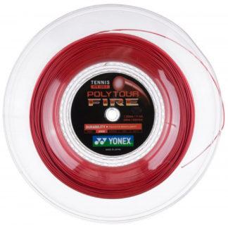 YONEX STRING POLYTOUR FIRE 1.20MM 17G RED REEL