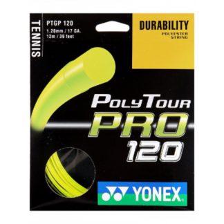 YONEX STRING POLYTOUR PRO 1.20MM 17G YELLOW SET