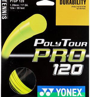 YONEX-STRING-POLYTOUR-PRO-1.20MM-17G-YEL-SET