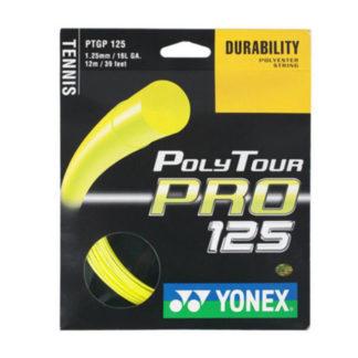 YONEX STRING POLYTOUR PRO 1.25MM 16G YELLOW SET