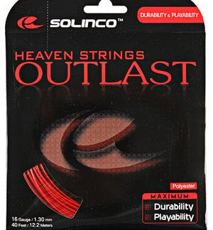SOLINCO-STRING-OUTLAST-RED-16G-1.30MM-SET