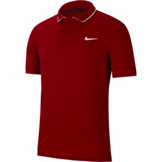 NKE-SHIRT-POLO-DRY-TEAM-MN-RED