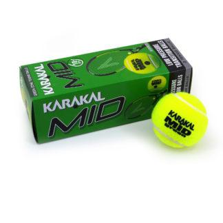 KARAKAL BALL TENNIS GREEN DOT MID 25% (3)
