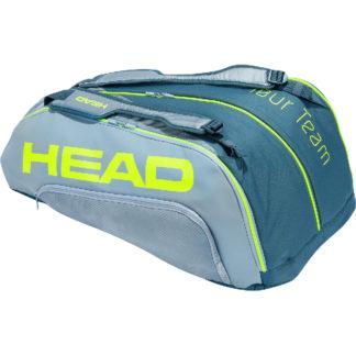 HEAD BAG EXTREME TOUR TEAM 9RACKET GREY/LIME