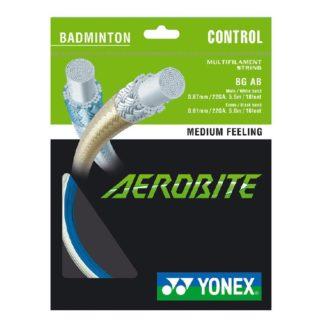 YONEX STRING BADMINGTON AEROBITE 22G WHITE/BLUE SET