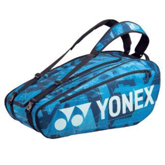 YONEX BAG PRO 9RACKET WHITE/BLUE