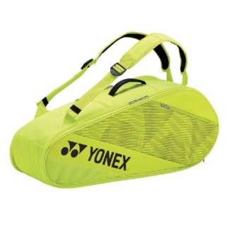 YONEX BAG ACTIVE 6RACKET LIME/YELLOW
