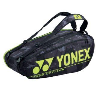 YONEX BAG PRO 9RACKET BLACK/YELLOW