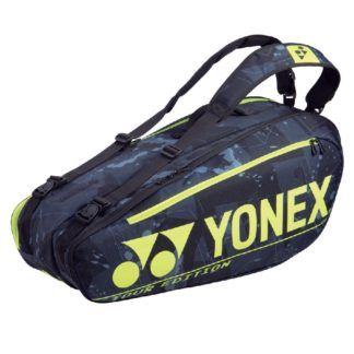 YONEX BAG PRO 6RACKET BLACK/YELLOW