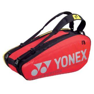 YONEX BAG PRO 9RACKET RED