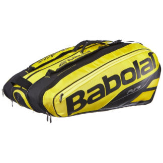 BABOLAT BAG PURE AERO 12RACKET BLACK/YELLOW (2019)