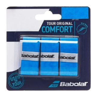 BABOLAT GRIP OVERGRIP TOUR ORIGINAL COMFORT DRY BLUE (3)