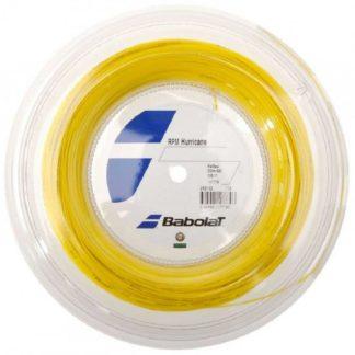 BABOLAT STRING RPM HURRICANE YELLOW 17G 1.25MM REEL