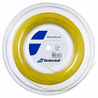 BABOLAT STRING RPM HURRICANE YELLOW 16G 1.30MM REEL