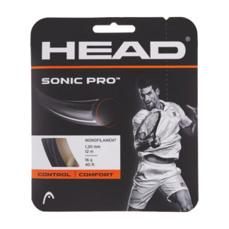 HEAD STRING SONIC PRO BLACK 17G 1.25MM SET