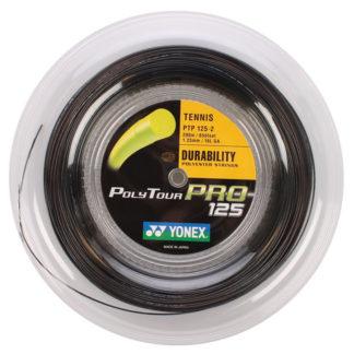 YONEX STRING POLYTOUR PRO 1.25MM 16G BLACK REEL