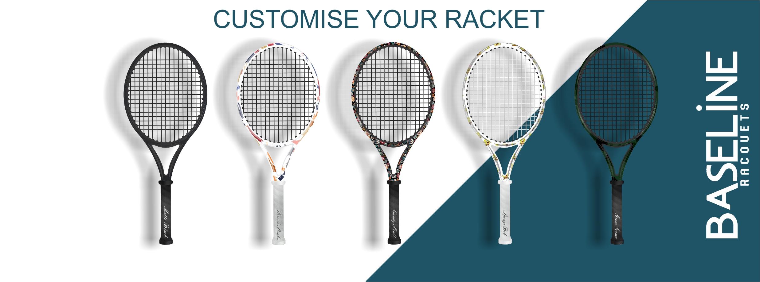 Custom Racket Banner