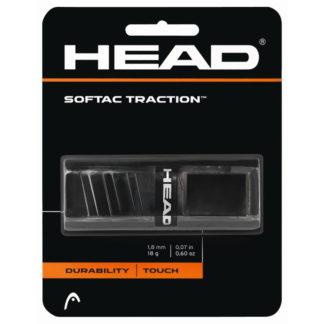 HEAD GRIP REPLACEMENT SOFTAC TRACTION BLACK