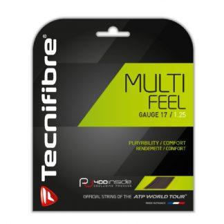 TECNIFIBRE STRING MULTI FEEL 1.30MM 16G BLACK SET