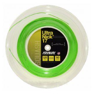 ASHAWAY STRING SQ ULTRANICK 17G 1.25MM GREEN REEL