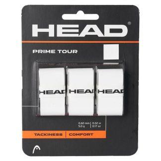 HEAD GRIP OVERGRIP PRIME TOUR WHITE (3)