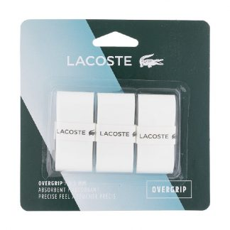 LACOSTE GRIP OVERGRIP 0.5MM WHITE (3)