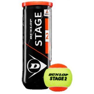 DUNLOP BALL TENNIS STAGE 2 ORANGE (3)