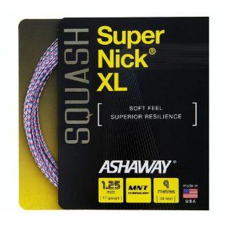 ASHAWAY STRING SQUASH SUPERNICK XL 17G 1.25MM SET