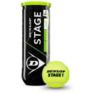 DUNLOP BALL TENNIS STAGE 1 GREEN (3)