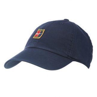 NIKE CAP COURT LOGO BLUE